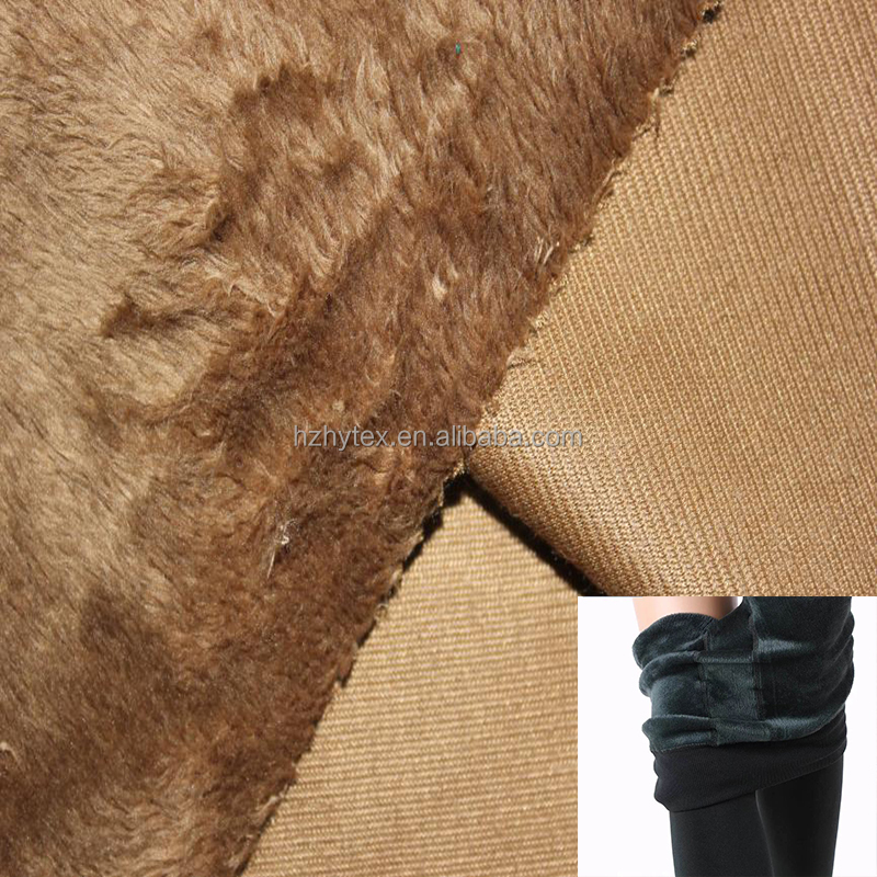 100%polyester wholesale plush fabric for garment lining