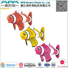 Hot sale cheap giant inflatable fish toy , inflatable animal toy, advertising inflatable fish for kids