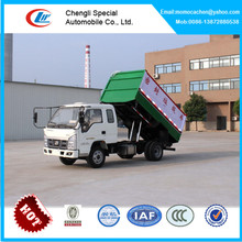 Small garbage truck for sale garbage collector truck sealed garbage truck with cover