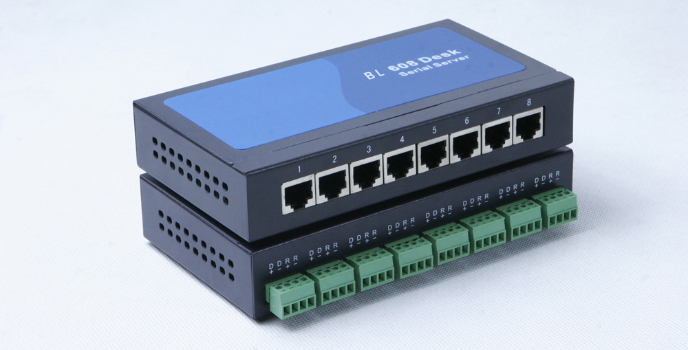 Quality choice 8 port Serial Device Server RS232 to Ethernet TCP IP Converter Server