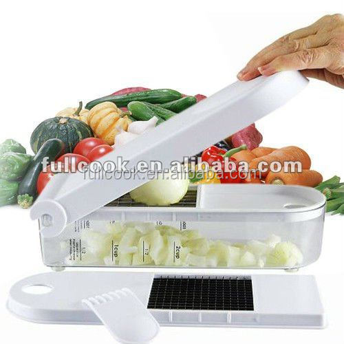 High quality green stainless steel Slap Chop/Onion Manual Chopper