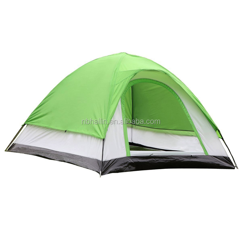 3-person Dome Family Tent for Traveling, Camping, Hiking with Portable Bag