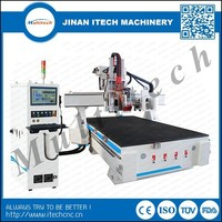 Multitech woodwroking center cnc router with servo motor 1325