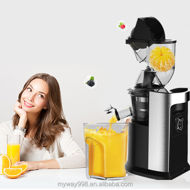 China Mainland Manual Electronic Bar Equipment Hand Stainless Steel Korea Slow Juicer