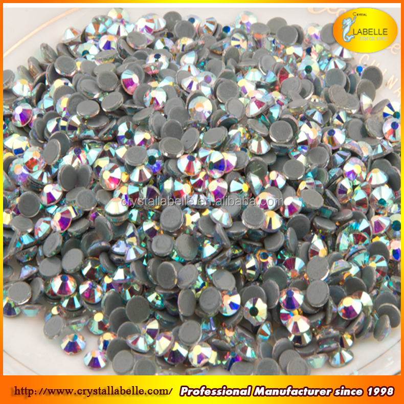 Wholesale 3MM SS10 Nude AB Color Transparent AB color Rhinestones