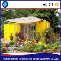 20ft 40ft modern prefab shipping container homes plans/house design for sale in usa