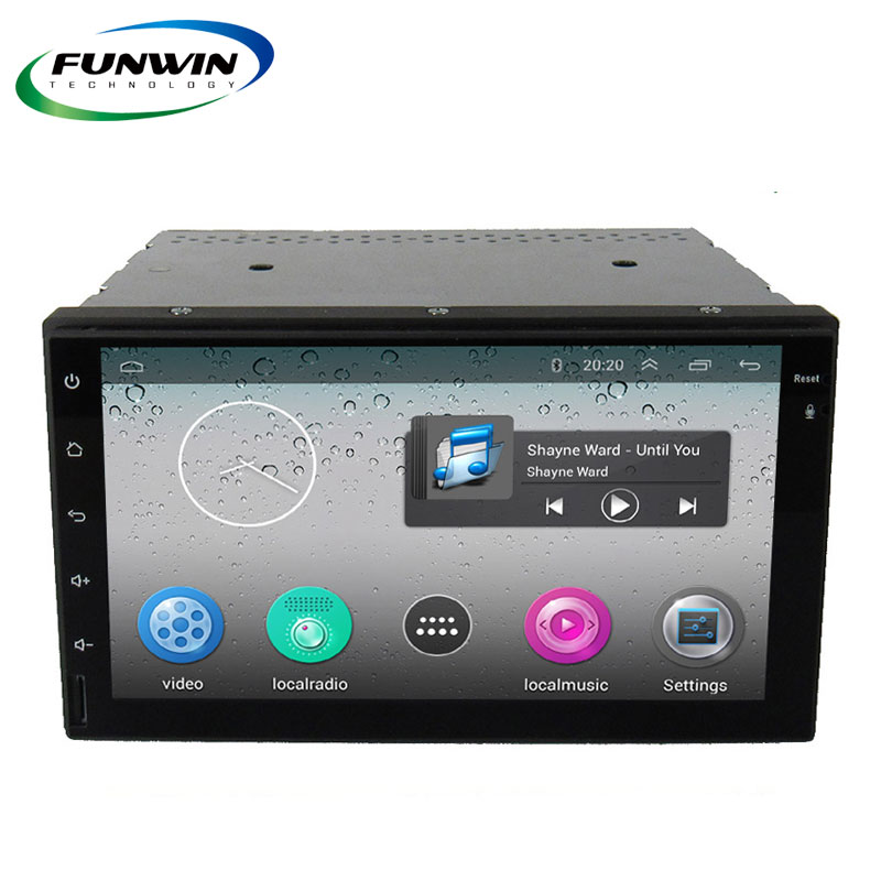 Funwin 2016 Hot Sale 2 Din 7 Inch Universal Android Car Dvd Player With Wifi