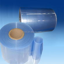 0.5mm pharma grade thermoforming blue rigd pvc film virgin material capsule blister packaging plastic film