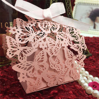 Light Pink Craft Sweet Candy Box