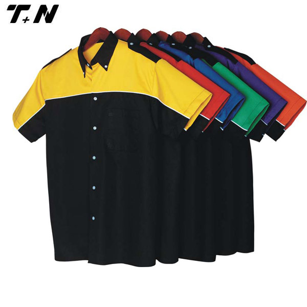 Button up racing shirt,rally racing shirts