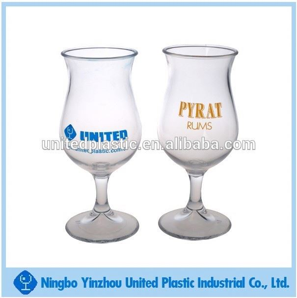 10oz acrylic plastic wine tasting glasses