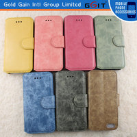 Hot Sale Leather Case For Iphone 4 Flip Cover With Wallet and Stand Function, Leather Book Case For Iphone 4