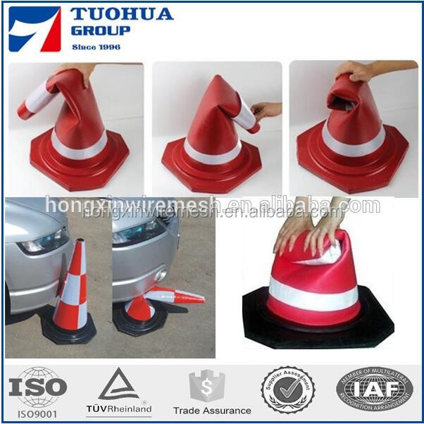 Warning Triangle Type Traffic Cone