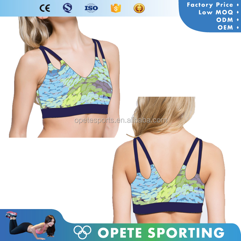 New Oem Girl Sport Seamless Hot Sex Women ,Seamless Sport Bra China