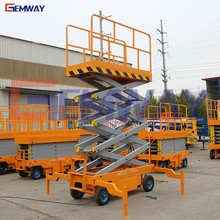 Most durable electric mobile hydraulic mini scissor lift for light maintenance