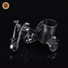 WR New Creative Motorcycle Metal Fashion Craft Pen Holder Barrel Container Office School Supplies Home Decor Birthday Gift