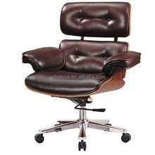 New York Office Chair, Button Tufted Wheels Chair, Heavy Duty Boss Chair HY3106