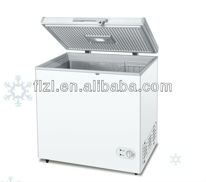 solar powered energy 12V/24V deep DC freezer 100L 12/24V DC 100L freezer with DC compressor