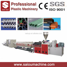 Quality Hot Sale Plastic PVC pipe making machine