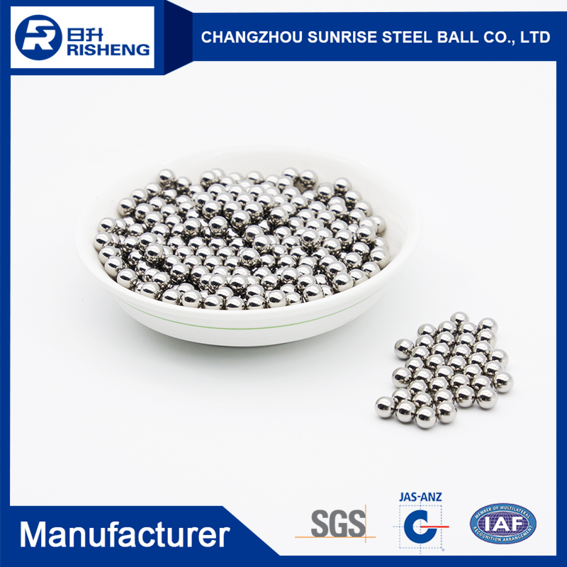 good quality 4.763mm chrome steel balls for magnetic rod of China