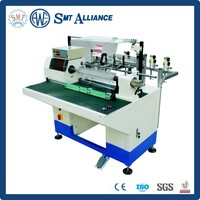 Electric motor winding wire stripping machine / table fan motor winding machine