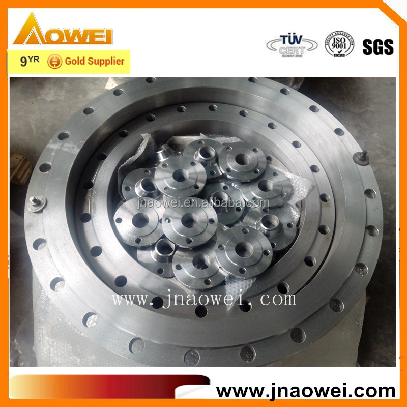 welding Neck ANSI Butt Welded steel flange adapter PN40