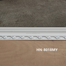 corner decorative light polyurethane foam crown mouldings in Haining