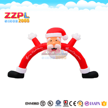 Advertising inflatable Christmas arch, Inflatable Christmas Decorations Arch