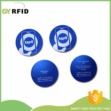 DIP SR176 ST hf rfid PVC Disc Tag for RFID asset tracking system