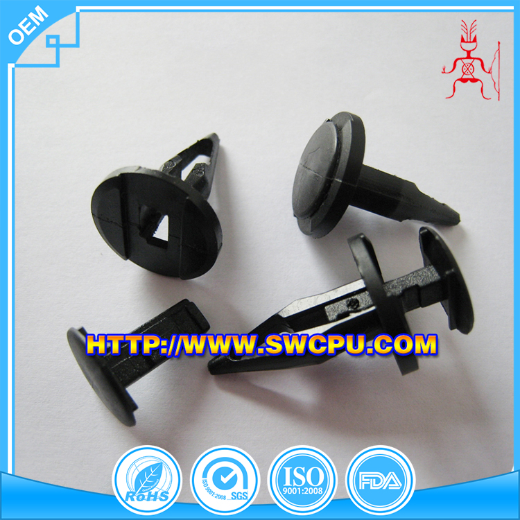 China auto parts custom cheap automotive plastic clips and fasteners