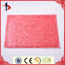 Easy To Clean Decorative Shiny Microfiber Chenille Bath Rug