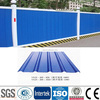 PPGI galvanized GI construction fencing Corrugated roofing steel sheet