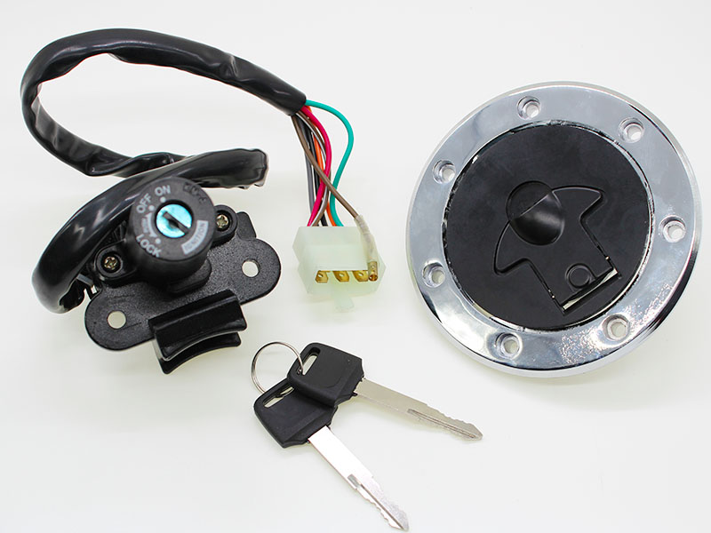 Guangdong Manufacturer ZXR400 motorcycle Ignition Switch Side Lock Fuel Tank Cap Scooter