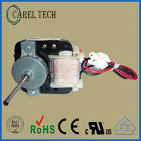CE, VDE, TUV, UL approved YJ4810 14W shaded pole ac electric fan motor