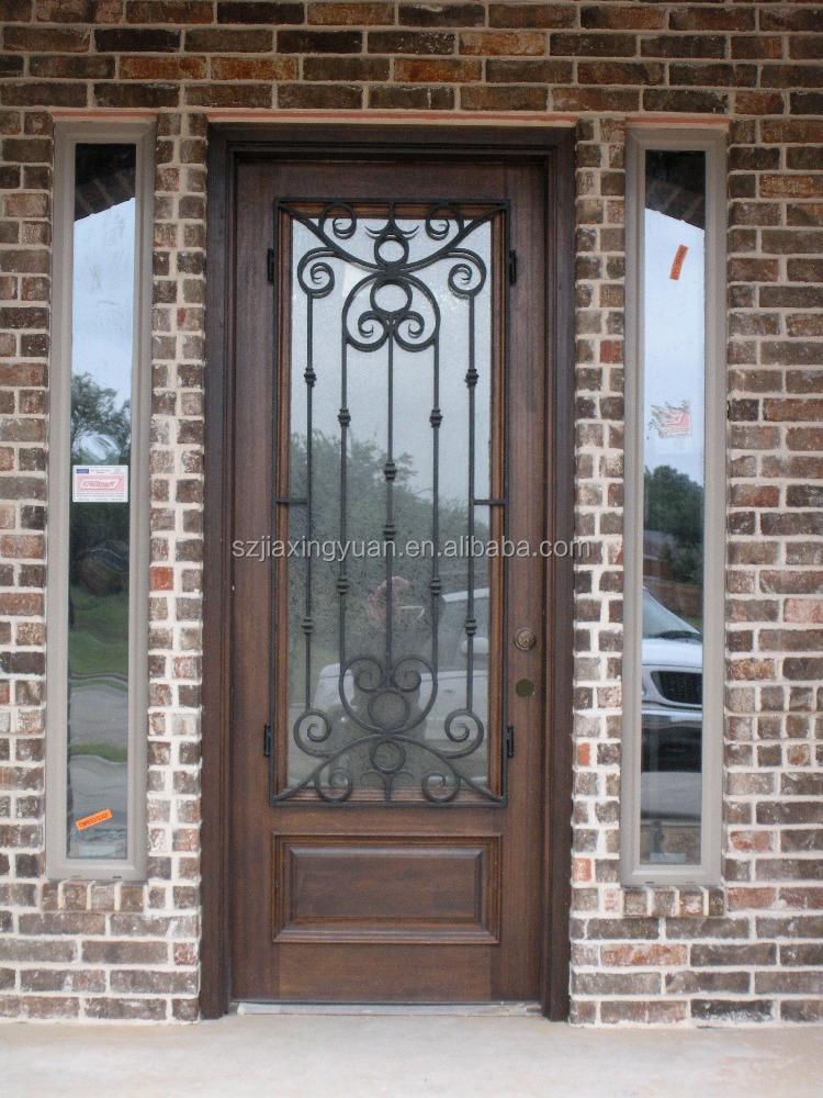 Solid wood main door designs single door buy main door for Single main door