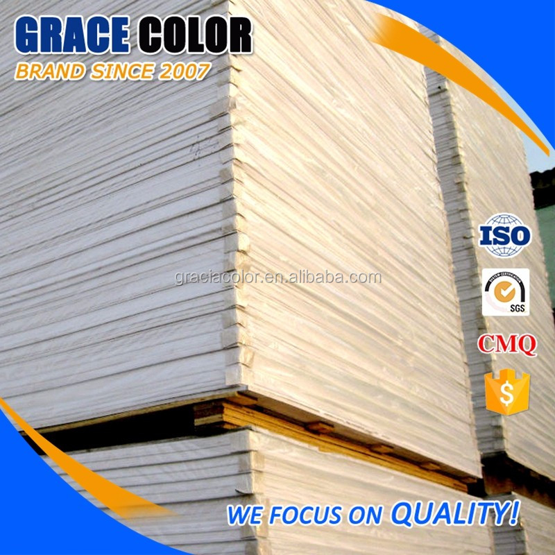 White foamd board pvc foam 4x8 plastic sheets for outdoor sign