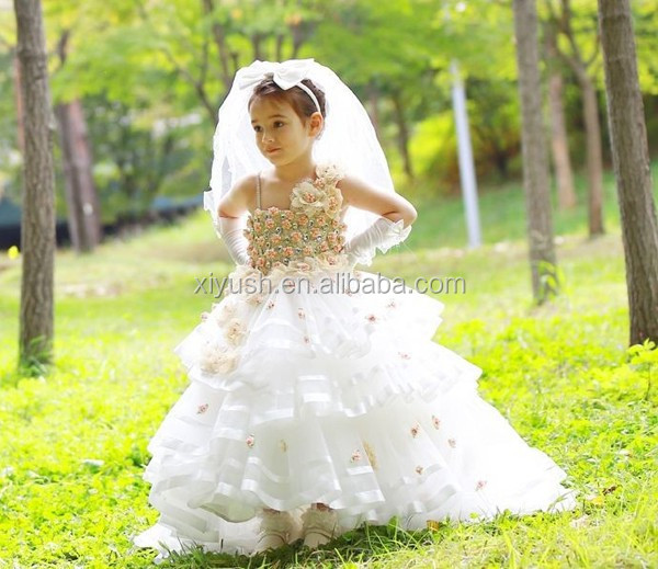 manufacturer wholesale flower girl net dresses