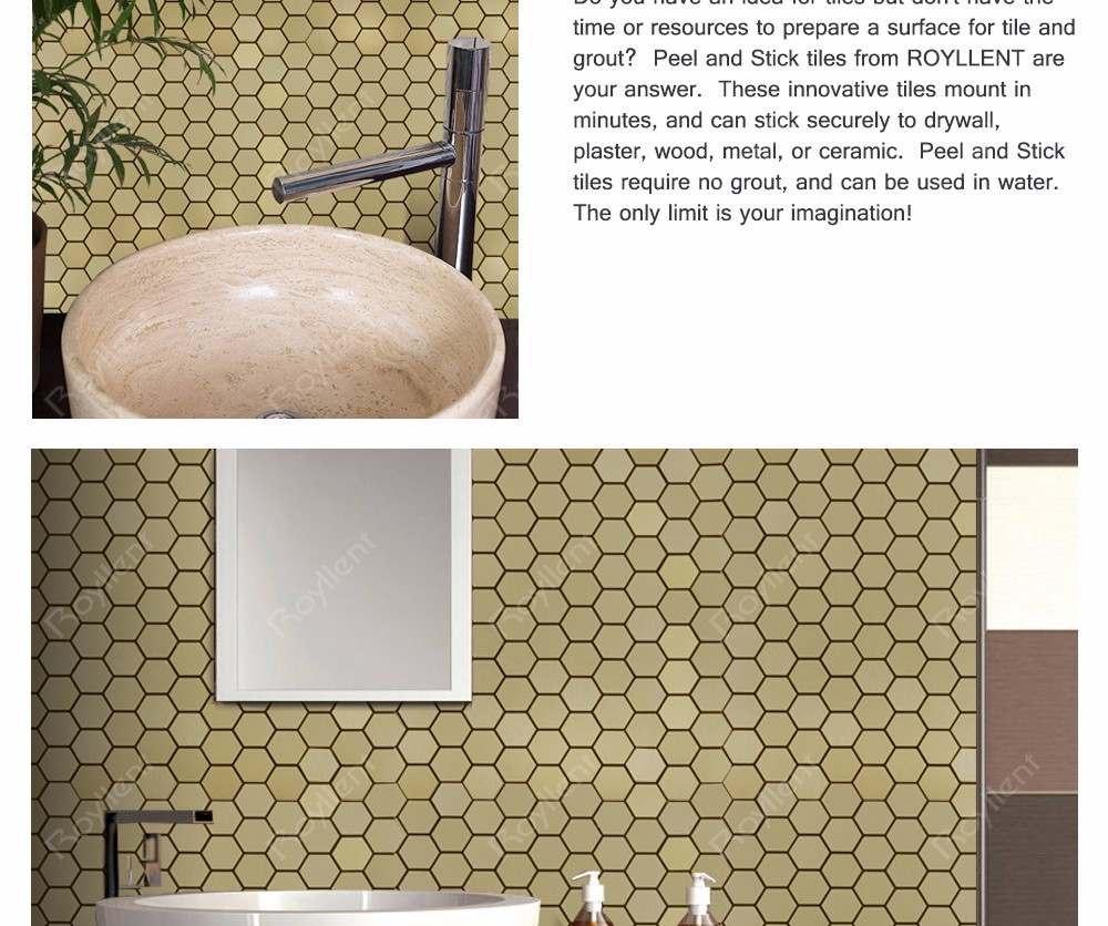 Rhombus Gold Mosaic tile Modern Kitchen Bathroom Home Decoration Design Building Materials China Supplier RM201633