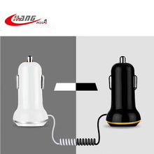 Portable USB Car Charger for Mobile Phone