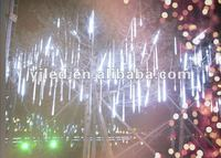 Outdoor LED Snowing icicle Fairy Lights--Flashing Snowflake Light