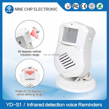 Home Shop Wireless Entry Door Bell Welcome Chime Motion Sensor Detector Alarm