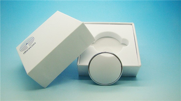 bluetooth low energy ultra-thin ibeacon, neckstring and keychain wearable ibeacon