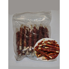 Distributor dental chews for dog dried duck with grain stick