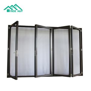 Veranda and Banquet Hall Luxury Lightweight Insulated Sliding Folding Partition Doors