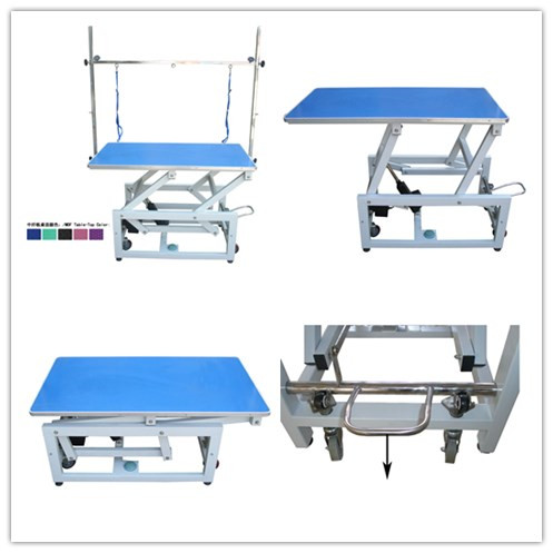 Electric adjustable table with mobile wheels from China factory N-107