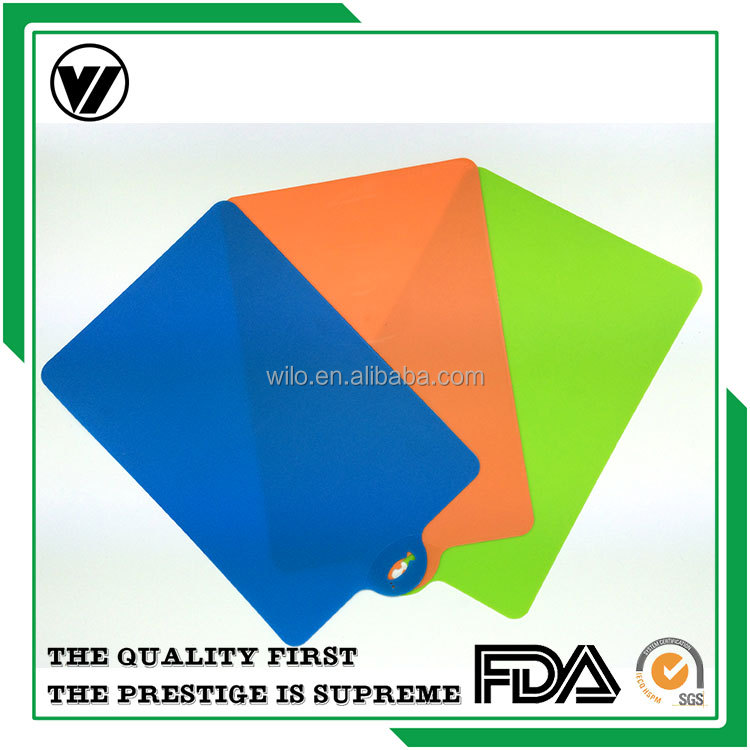 Hotest Style Kitchen Vegetable Cutting Board , PP Plastic Cutting Board
