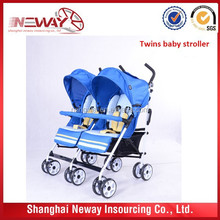 new design and hot sale baby stroller for twins