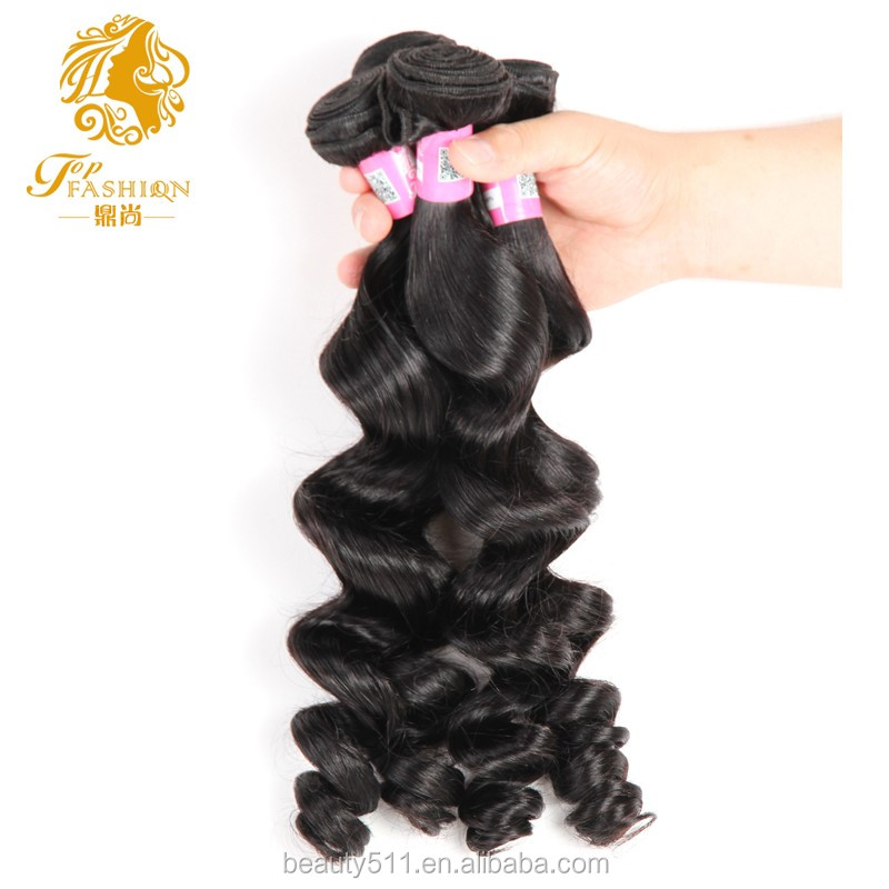 Factory supply unprocessed raw indian hair wholesale loose wave 100% human virgin import indian hair vendor HS04