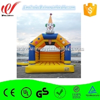 Cartoon cute bouncers inflatables,bouncy castle prices,giant inflatable bouncer W1474