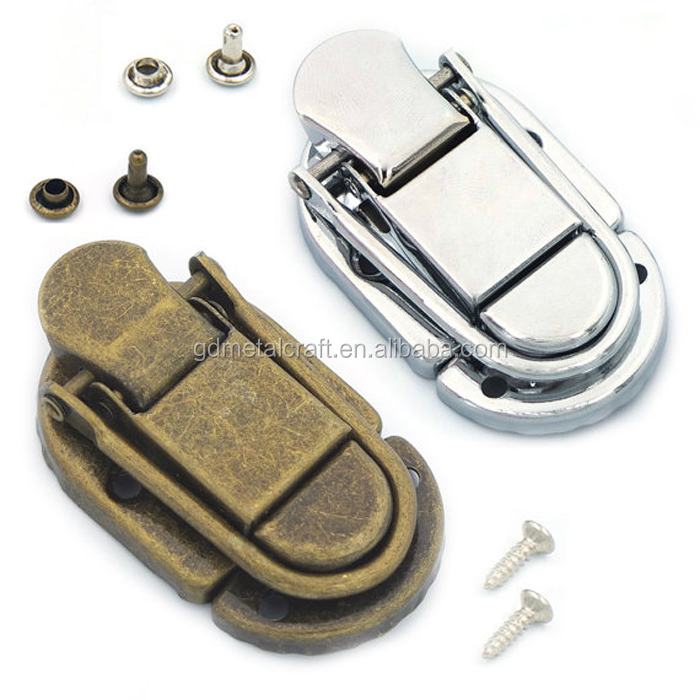 Toggle Case Catch Latch Trunk Drawbolt Lock Closure With Double Cap Rivet